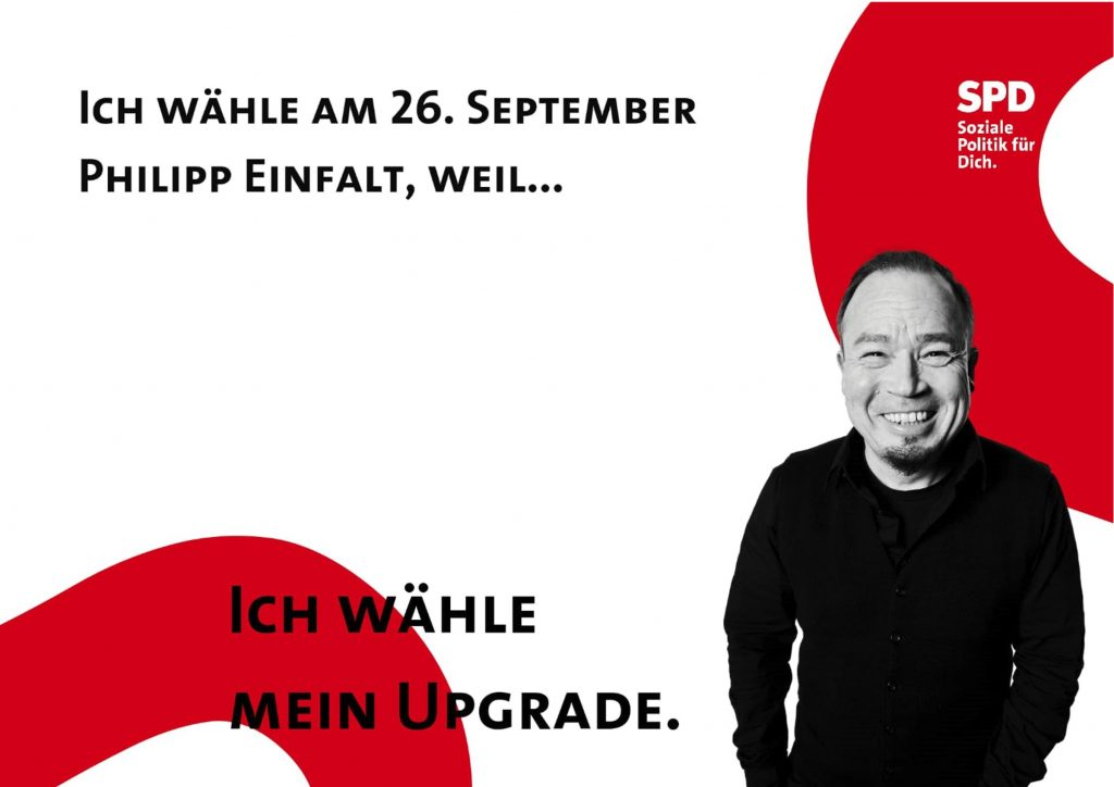 Phillipp Einfalt Bundestagswahl 2021